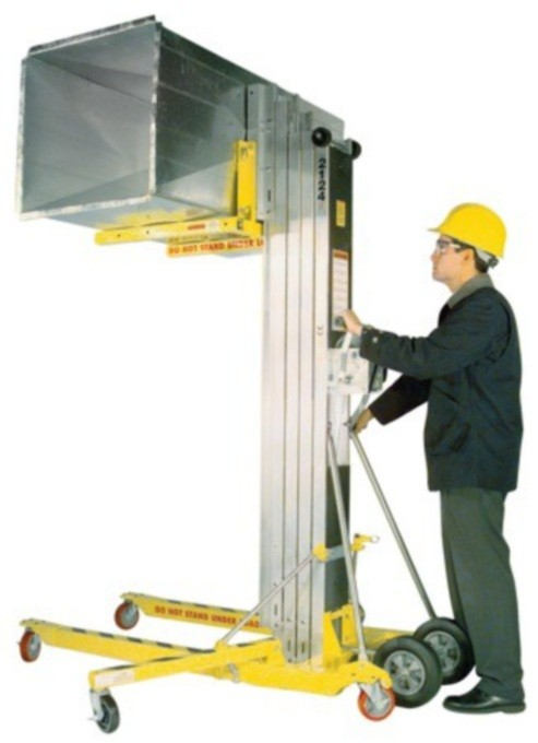 Lift, material (650 lbs) 24ft