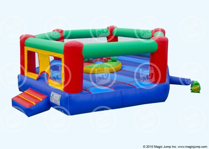 Bounce house w/pedestal