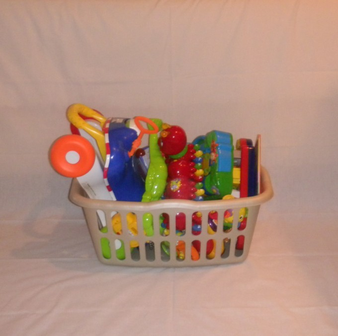 Toddler Toy Basket Large Baby Beach Vacation Grand Rental