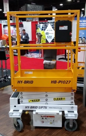 Push around scissor lift 10 ft platform height