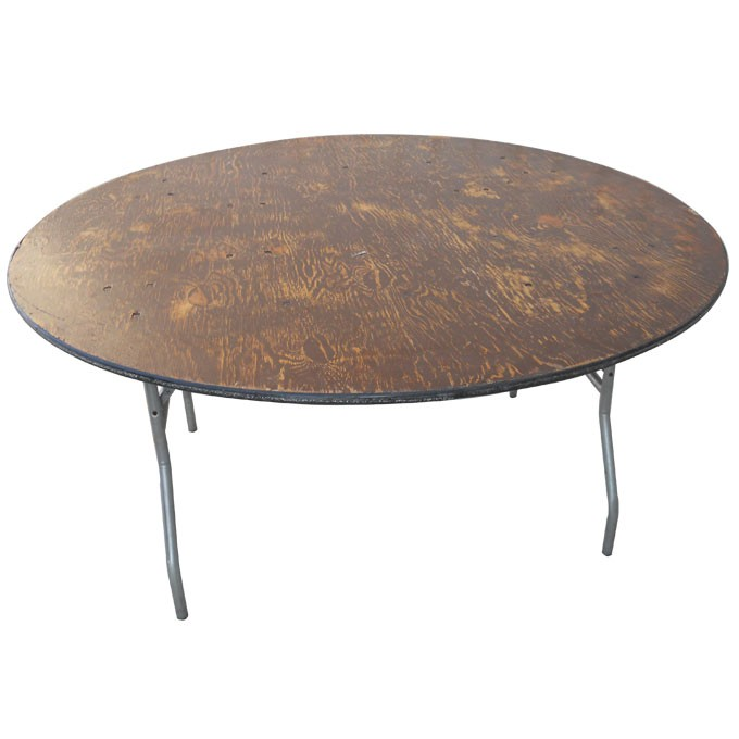 Table, round 30, 36, 48, or 60