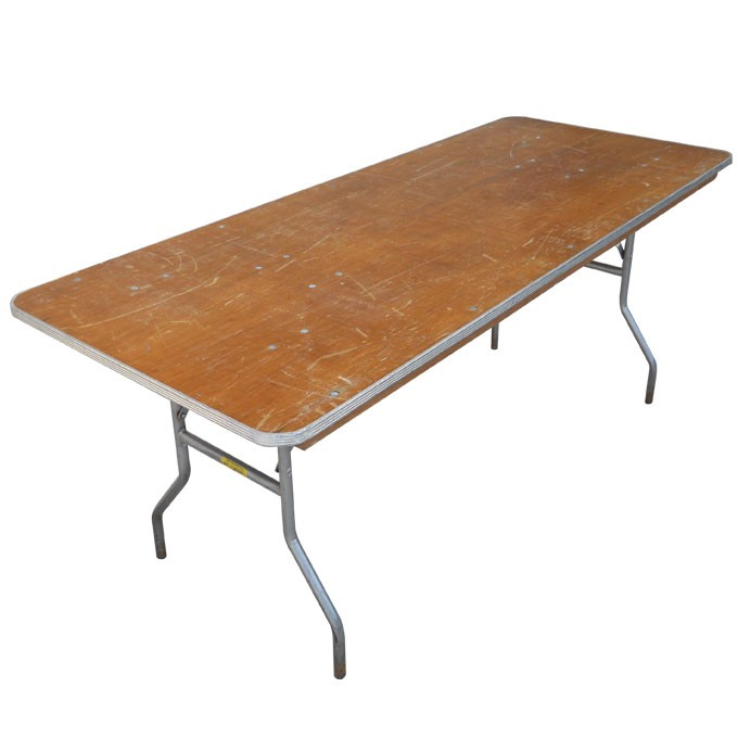 Table, banquet rect. 6' & 8'