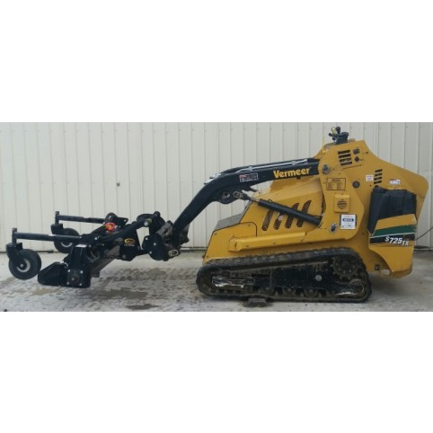 Loader, compact utility  (Harley) power box rake attachment