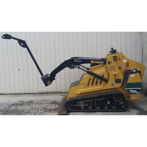Loader, compact utility  Tree boom