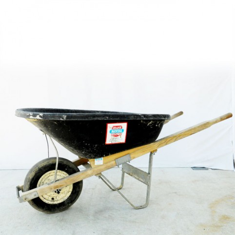 Wheelbarrow, 6 cu. ft.