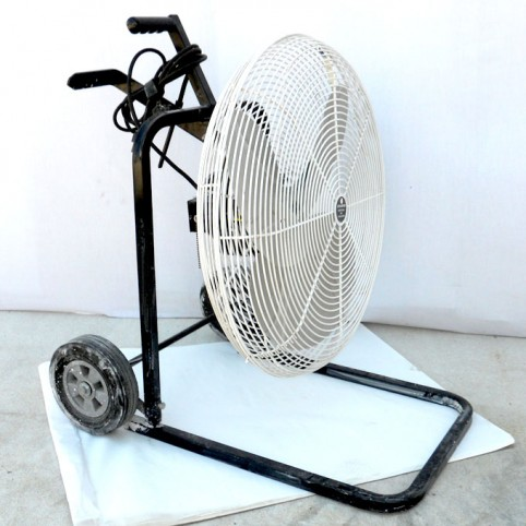 "Fan, 24"" on wheels"
