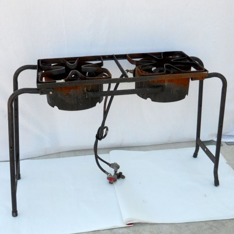 Cooker, LP 2 burner (includes 1 full tank)