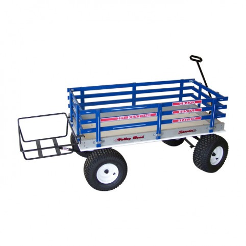 Cooler rack for beach wagons
