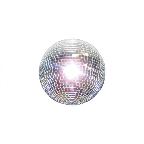 Mirror ball w/lamps