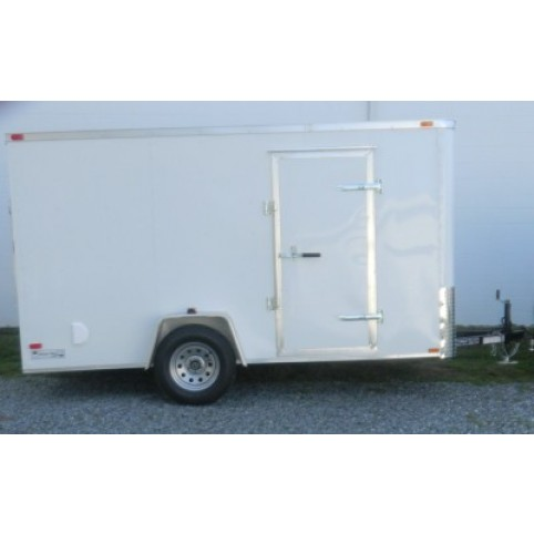 Trailer, enclosed  12  ft. S/A