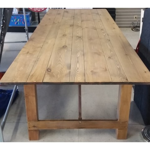 "Farm table 40"" x 108"""