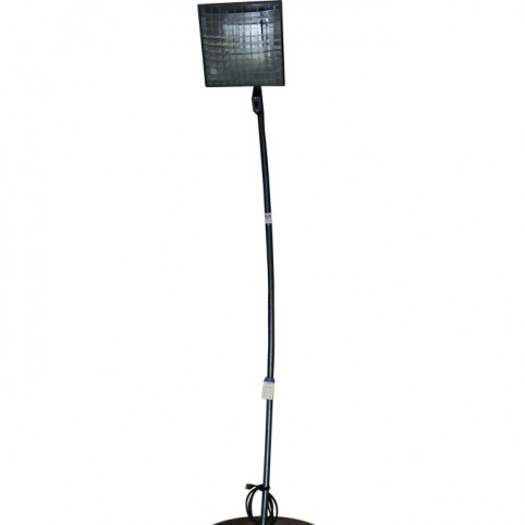 Heater, elec. radiant pedestal model
