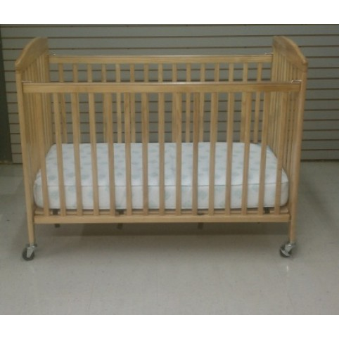 Full size crib (wood) folding
