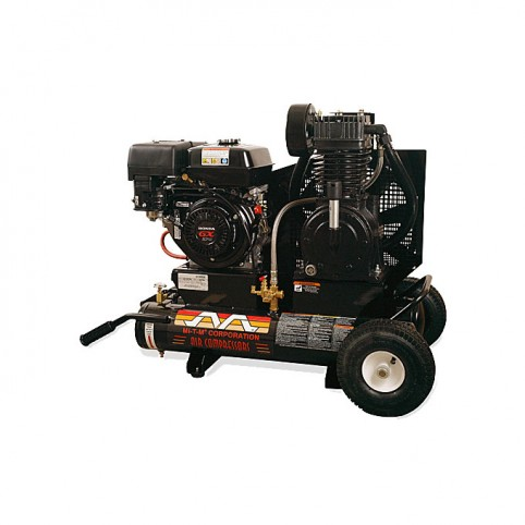 Compressor gas, 8 hp 2 stage