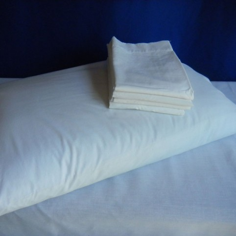 Extra pillowcase for standard sheets in single, double and queen