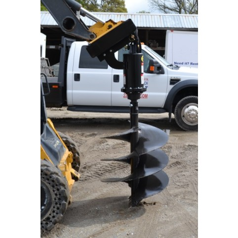 Loader, hyd. auger attachment