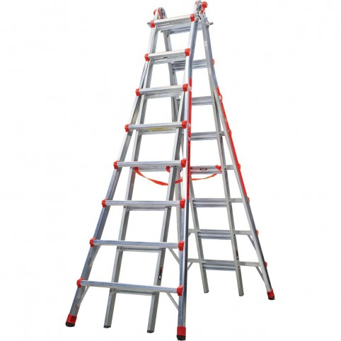 21 ft. A frame stepladder