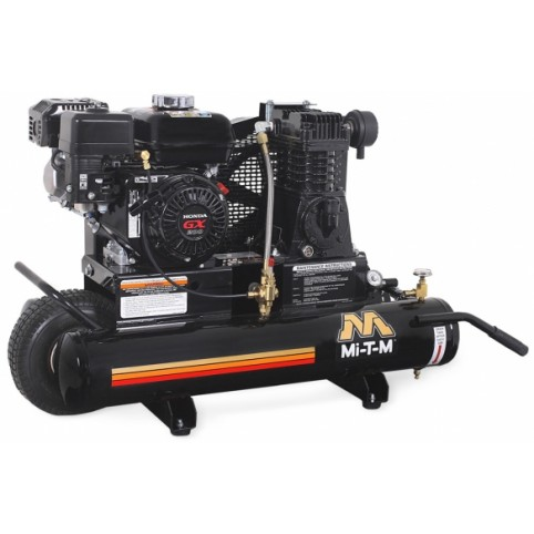 Compressor gas, 5.5 hp single stage